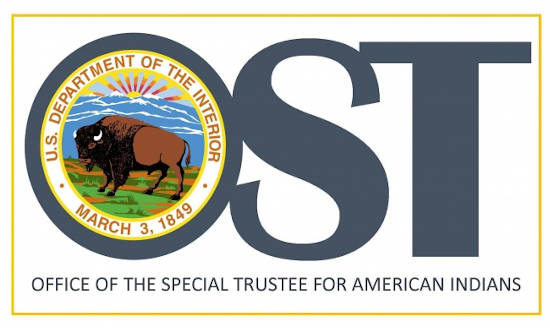 Office of the Special Trust for American Indians logo
