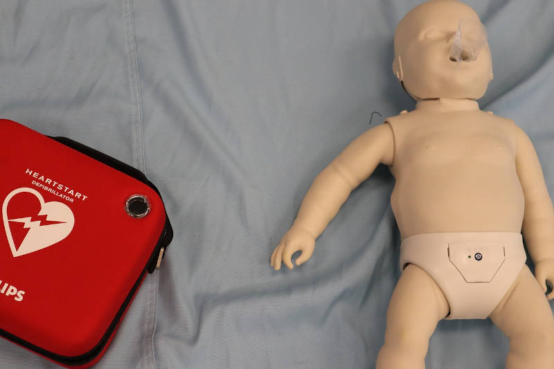 infant cpr doll
